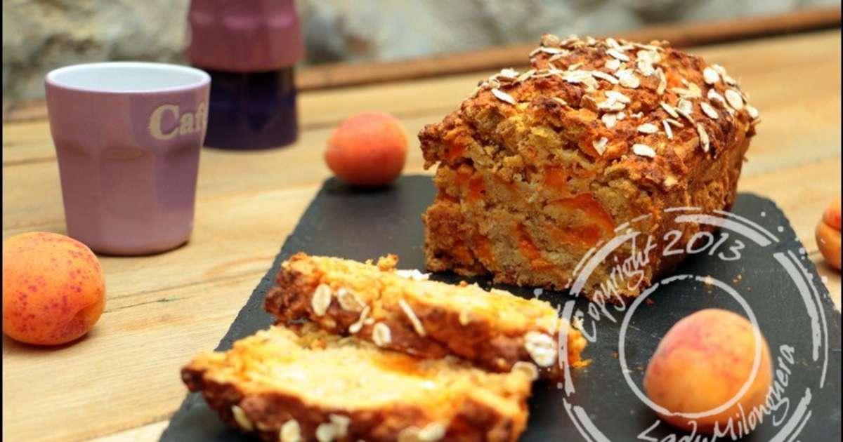 cake healthy aux abricots et flocons de c r ales recette par ladymilonguera. Black Bedroom Furniture Sets. Home Design Ideas