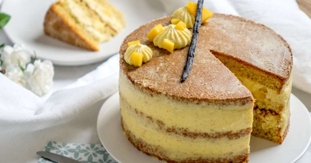 Cake Mangue Chocolat