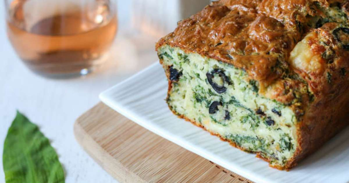 cake sal l 39 ail des ours recette par la cuisine d 39 adeline. Black Bedroom Furniture Sets. Home Design Ideas