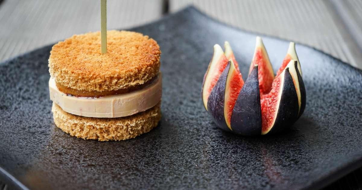 burger de foie gras sucr sal recette par chef simon. Black Bedroom Furniture Sets. Home Design Ideas
