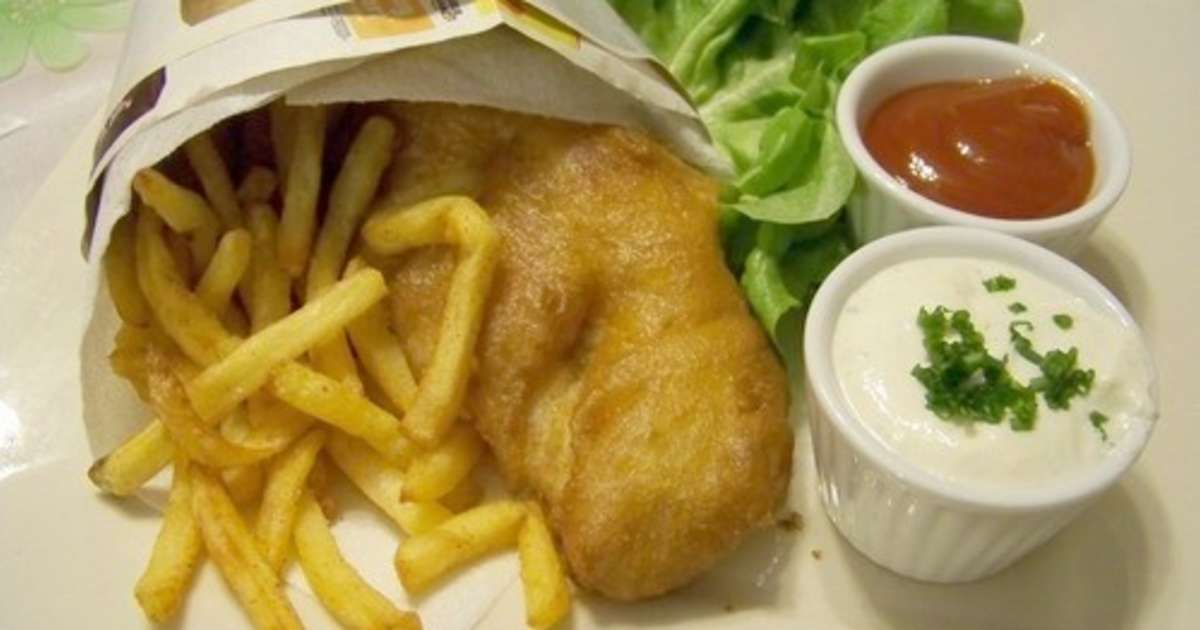 fish and chips authentique recette par cuisine en folie. Black Bedroom Furniture Sets. Home Design Ideas