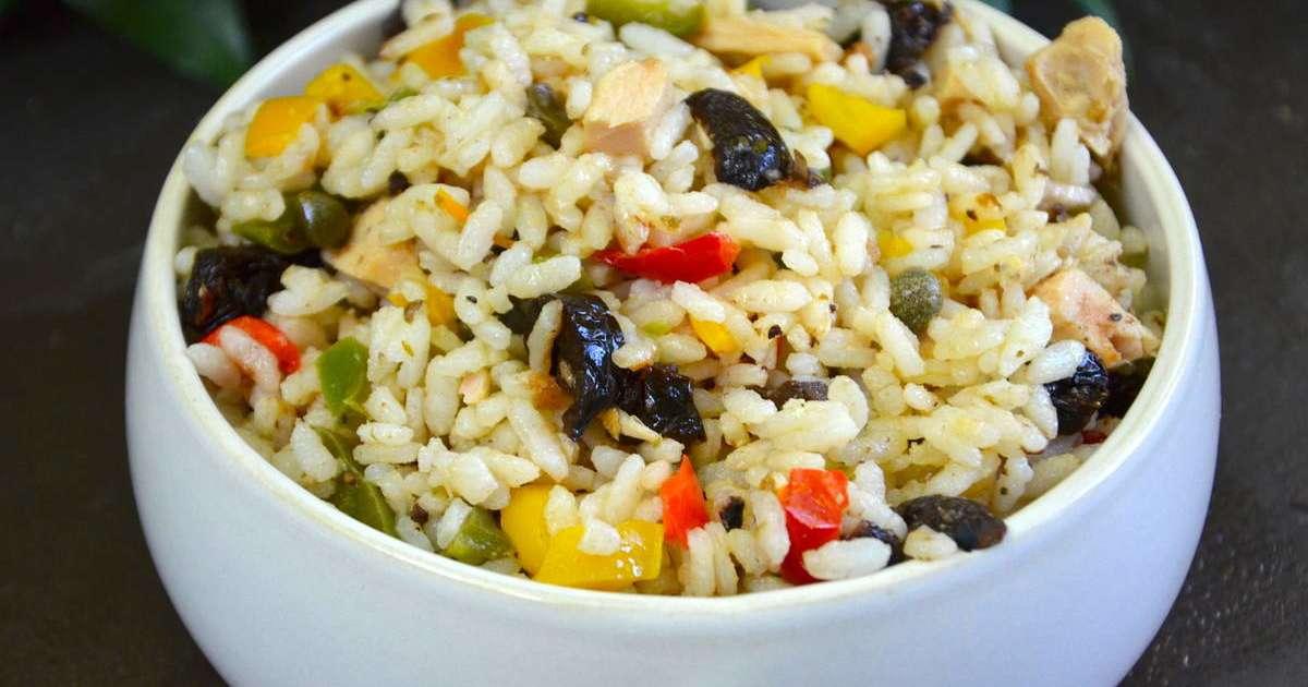salade de riz la m ridionale recette par la p 39 tite cuisine de pauline. Black Bedroom Furniture Sets. Home Design Ideas