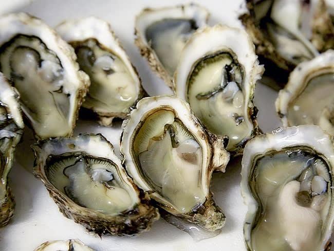 Les huîtres