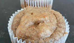 Muffins amande-banane-chocolat