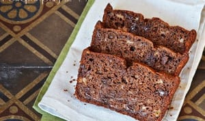 Cake bananes chocolat tonka