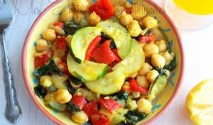 Salade de pois chiche