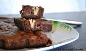 Brownies au chocolat noir et aux noix