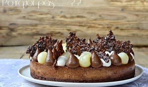 Gat-Ô chocolat poire vanille