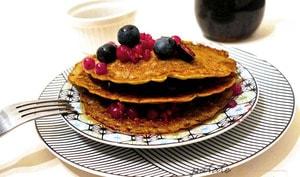 Pancakes vegan au sarrasin