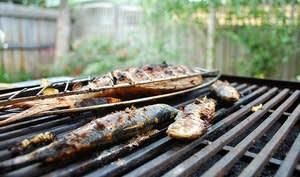 Sardines grillées à la provençale