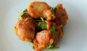 Curry de pommes de terre au yaourt et aux épices - vegan