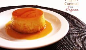 Crème caramel au safran