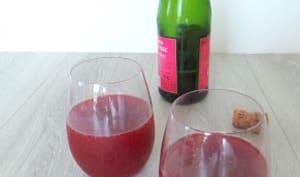Cocktail de cidre à la cerise