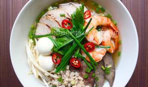 Soupe de nouilles Phnom Penh