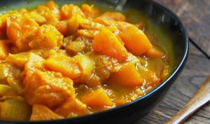 Curry de potiron express