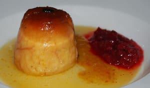 Gâteau de semoule parfumé aux agrumes et à la cannelle