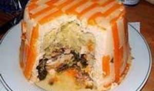 Chartreuse de poule faisane : la cuisson