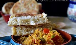 pain khobz tajine algérien aérée