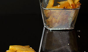 Frites sans friture