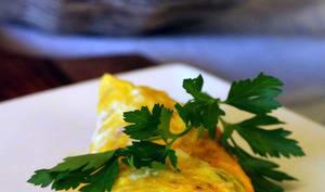 Une omelette dans le sachet