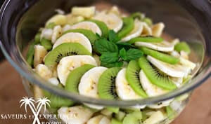 Salade de fruits des îles