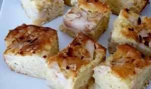 Gâteau au mascarpone et aux poires