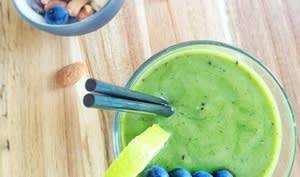 Green smoothie au thé matcha