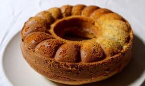 Gâteau moelleux citron, amande et graines de chia