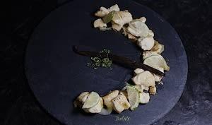 Fricassée de poulet à la vanille et au citron vert