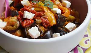 Légumes grillés pour repas ensoleillés