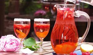 Cocktail léger et fruité