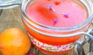Beurre d'abricot et framboise