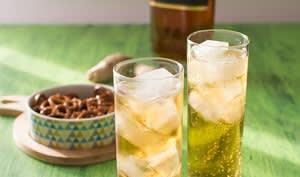 Cocktail cognac et gingembre