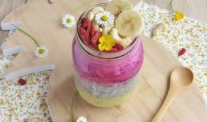Chia Pudding aux fruits exotiques