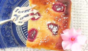 Fiadone abricots framboises