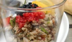 Salade de riz aux sardines