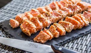 Tataki de saumon