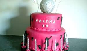 Gâteau disco