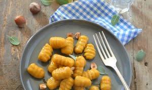 Gnocchis de potiron à l'érable et aux noisettes grillées