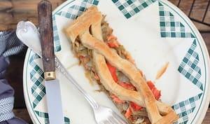 Jalousie fenouil et saumon fumé