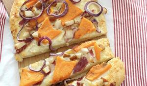Pizza de l'automne à la courge