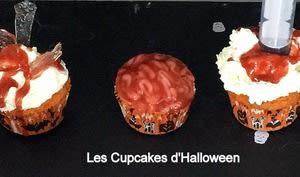 Les cupcakes d'Halloween
