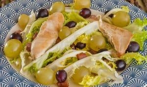 Salade de poulet aux deux raisins