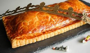 Galette des rois poire noisette et chocolat