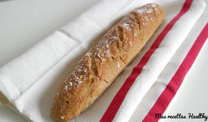 Baguette à l'avoine sans pétrissage