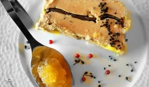 Terrine de foie gras à la truffe