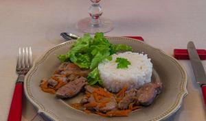 Magret de canard marinade soja gingembre