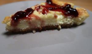 Cheesecake aux biscuits à la châtaigne et au miel
