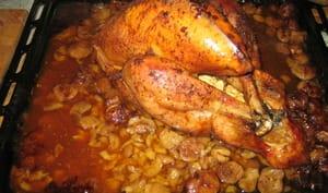 Dinde fermière aux marrons cuisson basse température