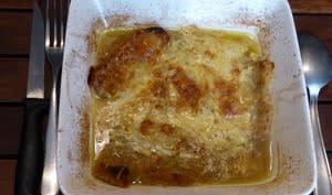 Soupe à l'oignon et au brie
